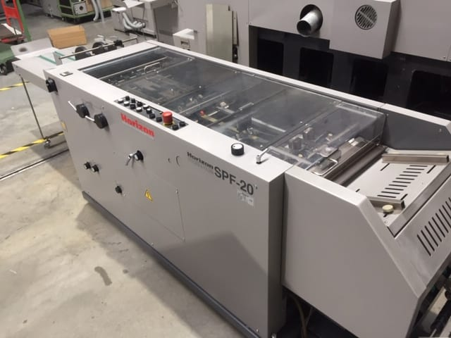 HORIZON SPF-20 bookletmaker